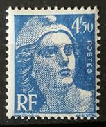 France - YT 718A - Marianne De Gandon (1945-47) - Bleu - NEUF ETAT IMPECCABLE - France