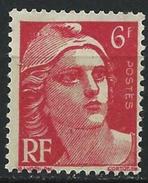 France - YT 721 - Marianne De Gandon (1945-47) - Rouge - NEUF ETAT IMPECCABLE - France