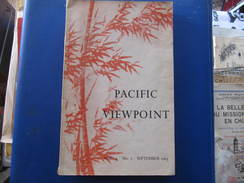 PACIFIC VIEWPOINT - Vol. 4  N° 2  September 1963 - Exploration/Voyages