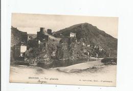 BROUSSE LE CHATEAU (AVEYRON)  VUE GENERALE PANORAMIQUE 1931 - France