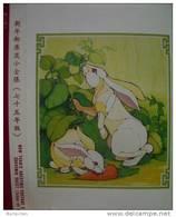 Folder Taiwan 1986 Chinese New Year Zodiac Stamps - Rabbit Hare 1987 - 1945-... Republic Of China