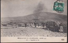 CPA - (51) Révolution En Champagne - Avril 1911 - AY - Vignobles En Feu - Ay En Champagne