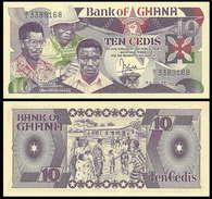 Ghana 10 Cedi 1984 P23 UNC - Ghana