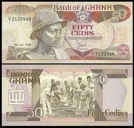 Ghana 50 Cedi P25 1986 Sn948 UNC - Ghana