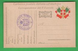 Franchigia Posta Regio Esercito Timbro PRESIDIO ROBIC Slovenia - 1900-44 Vittorio Emanuele III