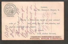 Precursor-Précurseur-Vorläufer 1881.Soldier-Horse-Dragon - England