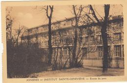 Asnières - Institut Sainte-Geneviève - Entrée Du Parc - Asnières