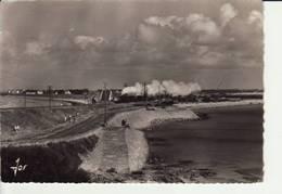 QUIBERON - Presqu'île Partie La Plus étroite De L'isthme Entre Deux Mers Près Fort Penthièvre (Co 675)Train Tire-bouchon - Quiberon