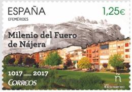 ESPAGNE SPANIEN SPAIN ESPAÑA 2017 MILENANY LAW: FUERO OF NAJERA ED 5151 - 2011-... Neufs
