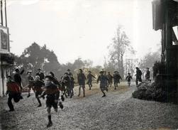 MONTLIGNON (en 1942) -Inauguration D'une Maison D'enfants Des Travailleurs Français En Allemagne,scouts( Format 18x13cm) - Places