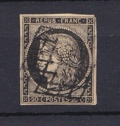 France 1849 - N°3 -  Obl.Grille - 1849-1850 Ceres
