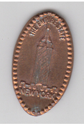 PIECE ECRASEE  - THE EMPIRE STATE - NEW YORK - Elongated Coins