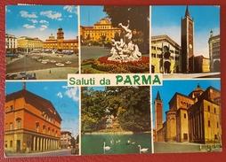 SALUTI DA PARMA - VEDUTINE Viaggiata - Parma