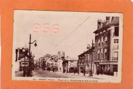 CPA * * REIMS * * Place De La Magdeleine Et Rue De Vesle - Reims