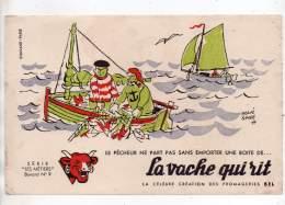 Buvard - La Vache Qui Rit - Les Métiers - N°9 - Dairy