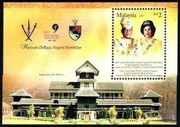 Malaysia Negeri Sembilan 2007 S#109 Royal Heritage M/S MNH Royalty - Malaysia (1964-...)