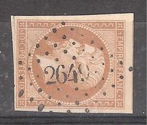Empire N° 13 B Obl Pc 2649 De REMUZAT , Drôme, Indice 12, 1 VOISIN, TTB - 1853-1860 Napoleone III
