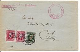 SLOVAQUIE - 1939 - ENVELOPPE De La POLICE De BRATISLAVA => GENEVE (SUISSE) - Slovaquie