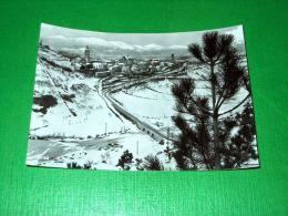 Cartolina Leonessa - Panorama Con Veduta Invernale 1958 - Rieti
