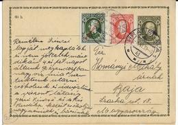 SLOVAQUIE - 1939 - CARTE ENTIER POSTAL De BRATISLAVA => HONGRIE - Covers & Documents