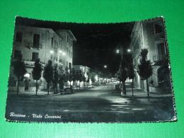 Cartolina Riccione - Viale Ceccarini 1952 - Rimini