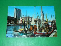 Cartolina Rimini - Porto Canale E Grattacielo 1971 - Rimini