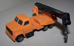 MAJORETTE - Kranwagen / 1:100  (No.283) In Orange - Majorette