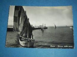 Cartolina Rimini - Ritorno Dalla Pesca 1954 - Rimini