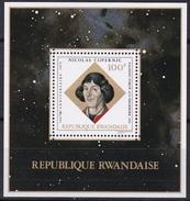 Sheet II, Rwanda Sc571 Nicolaus Copernicus (1473-1543), Space, Espace - Space