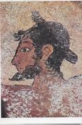 PITTURE ETRUSCHE DI TARQUINIA - DANZATORE -  NUOVA NON VIAGGIATA - Peintures & Tableaux