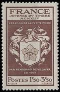 France - YT 668 - Journée Du Timbre. Au Profit De L'Entraide Française (1944) NEUF SANS GOMME - France