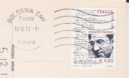 ITALIA 2008 PAVESE  SU CARTOLINA FIORI - 6. 1946-.. Repubblica