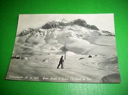Cartolina Pietracamela - Gran Sasso D' Italia - I Prati Di Tivo 1952 - Teramo