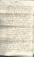Extrait De L'ancien Terrier De La Commune De Caestre ( Dpt Nord ) Effectué En 1740, ( 21 Pages) + Divers Meme Dossier - Manuscripts