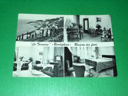 Cartolina Bordighera - La Terrasse ( Via Pasteur ) 1970 - Imperia