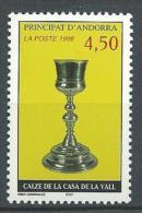 """Andorre YT 506 """" Calice """" 1998 Neuf** - Neufs"""