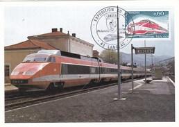 T.G.V.. VILLE DE LANGEAC  EN GARE (dil83) - 1990-99