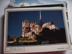 Frankrijk France Frankreich Parijs Paris Avec Notre Dame De Paris - Notre-Dame De Paris