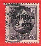 MiNr.129 II A  O Altdeutschland Bayern - Bavière