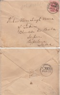 Great Britain 1905 KE VII  1d  Franked  PORTOBELLO Cover To JAIPUR India  CREASED # 95286 - 1902-1951 (Kings)