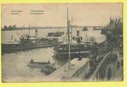 * Antwerpen - Anvers - Antwerp * (Edit Schrey Frères) Aanlegplaats, Embarcadère, Schelde, Bateau, Boat, Péniche, TOP - Antwerpen