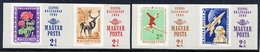 HUNGARY 1965 Stamp Day Imperforate MNH / **.  Michel 2175-78B - Hungary