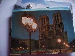 Frankrijk France Frankreich Parijs Paris Avec Notre Dame De Paris Et Illumation - Notre-Dame De Paris
