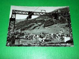 Cartolina Moena - Dolomiti - Panorama Dalla Seggiovia 1950 Ca - Trento