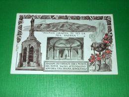 Cartolina Comitato Naz. Per L' Erezione Del Monumento Ossario Sul Grappa 1925 Ca - Treviso