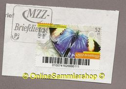 MZZ - Marke: Schmetterling Kallima Inachus - Auf Briefausschnitt - Papillons