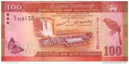 SRI LANKA 100 RUPEES 2010 (2011) P-125a UNC [LK125a] - Sri Lanka