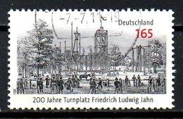 ALLEMAGNE. N°2870 (Réf. Michel) De 2011 Oblitéré. Turnplatz Friedrich Ludwig Jahn. - Gebraucht