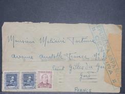 Espagne -  Enveloppe De Barcelone Pour La France En 1938 Avec Censure - L 8443 - Republikanische Zensur
