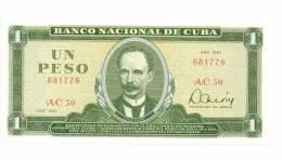 Cuba 1 Peso 1981 NEUF - Cuba